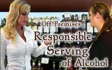 California Off-Premises Responsible Serving® of Alcohol Online Training & Certification